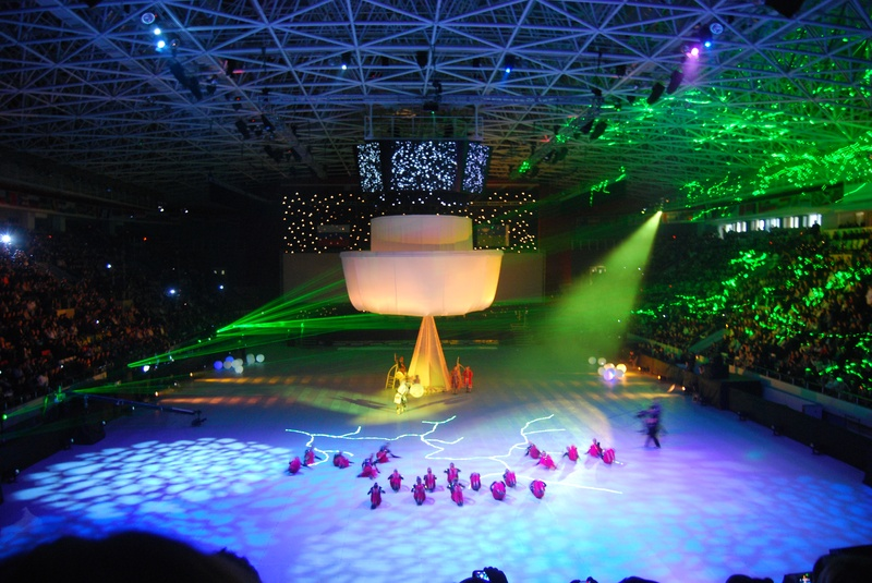 Opening ceremony of the 39th Olympiad